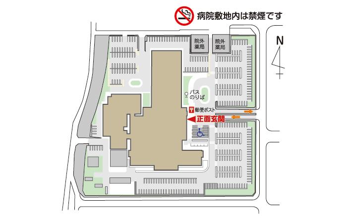 フロアマップ 全体図 駐車場配置